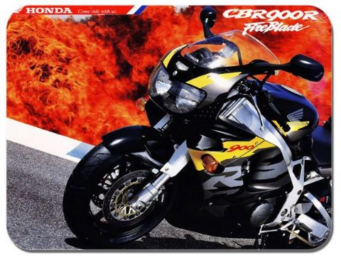 Fireblade CB 900R Motorcycle Mouse Mat. Classic bike Advert Brochure Mouse pad